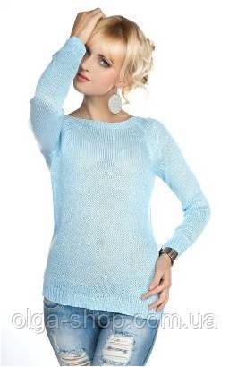свитер женский тонкий вязаный Mikos 0518 цена 490 грн купить в