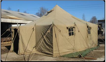 Палатка армейская УСТ-56