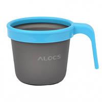 Кружка Alocs TW-403D (0.28л), синяя