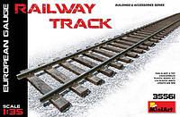1:35 Железнодорожное полотно (европейская колея), MiniArt 35561