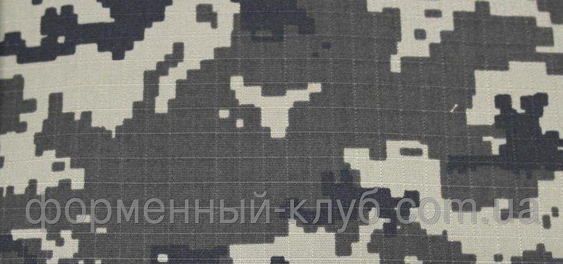 Ткань камуфлированная пограничная рип-стоп Собственное производство
