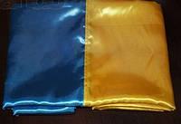 Флаг Украины атлас Собственное производство