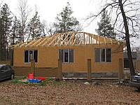Монтаж домов из сип панелей