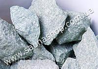 Камень для бани Жадеит колотый, 10 кг. GreenStone