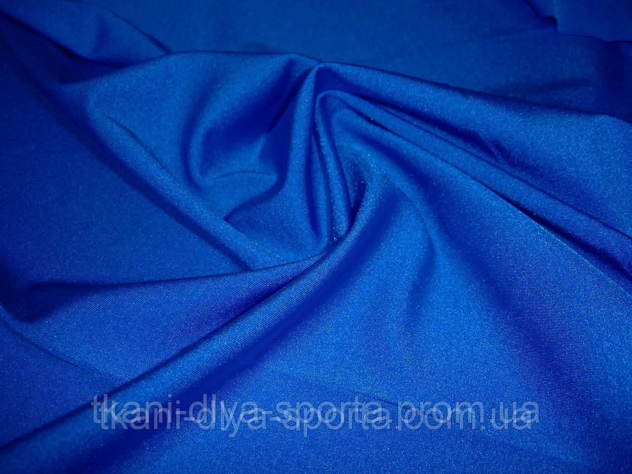 Бифлекс с нежным блеском ярко-синий