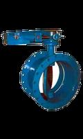 Серия MT–поворотная дисковая заслонка легкого типа  Ду 65 мм