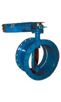 Серия MT–поворотная дисковая заслонка легкого типа  Ду 100 мм