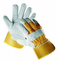 Перчатки спилковые комбинированные «Eider» код. 0101001699105