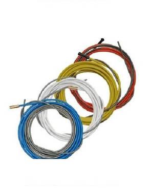 Спираль подающая (белая) 1,3/3,8/340 мм для проволоки D 0,6 - 1,0 мм ABICOR BINZEL, фото 2