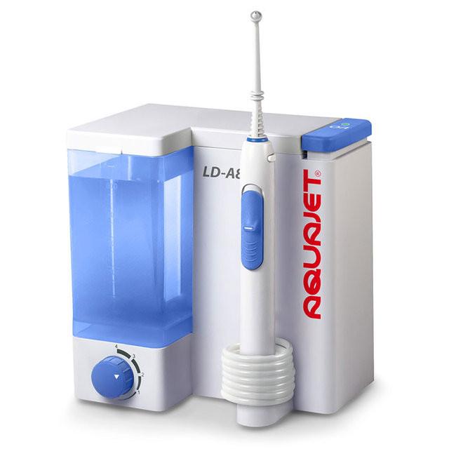 Ирригатор полости рта Aquajet LD-A8 белый (дефект упаковки)