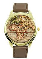 Наручные часы Карта мира