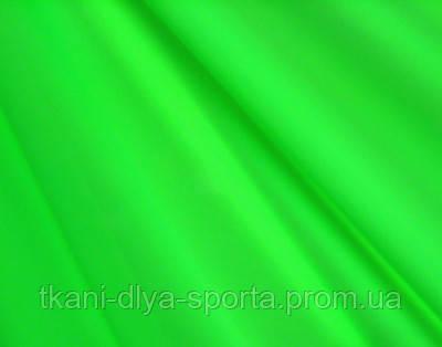 Бифлекс с нежным блеском ярко-салатовый fluo