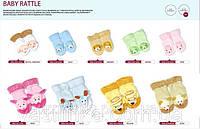 Детские носочки для новорожденных с пришитой игрушкой-погремушкой RATTLE TM ATTRACTIVE