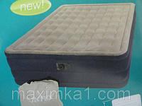 Двуспальная надувная кровать Intex Plush Bed 67710 с электронасосом