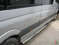 Боковые пороги Mercedes Sprinter CDI (средняя база)