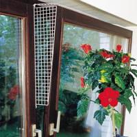 Защитные сетки на окна для котов, боковые ограничители, Карли-Фламинго (Karlie-Flamingo), белый