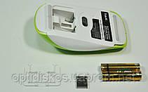 Беспроводная оптическая мышь HAVIT HV-MS906GT, Wireless USB, зеленая, фото 2