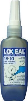 Клей-герметик LOXEAL 18-10, для металлических  труб, t-55/+150°C, 50 мл
