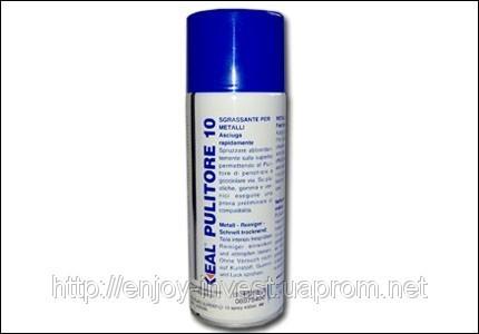 Очиститель Loxeal Cleaner Pulitore 10, обезжиривет поверхность, 400 мл.