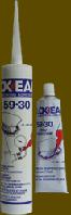 Силиконовый герметик LOXEAL 59-30, высокотемпературный, t до +300°С, 310 мл