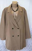 Новое стильное пальто KIABI шерсть полиэстер вискоза 4Х 64-66 C56N