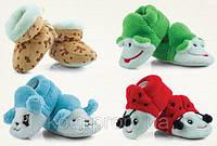 Детские тапочки для новорожденных FUTRSAKI- buciki TM ATTRACTIVE