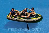 Лодка надувная трехместная Intex 68349 Seahawk 3