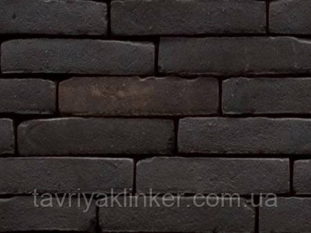 """Кирпич клинкерный ручной формовки Vande Moortel """"Miniature"""" Black brown"""