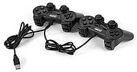 Комплект из 2-х геймпадов USB-2082  Wired Game Controller Black