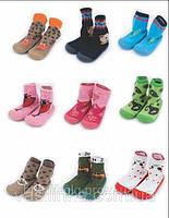 Детские тапочки с носком DINO TM ATTRACTIVE