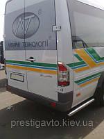 Продолжения порогов Mercedes Sprinter CDI