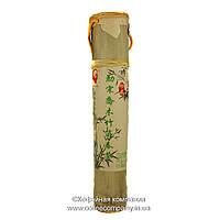 Чай Пуэр Шен Раритет в бамбуке Подарочный 2002 года прессованный 500г