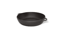 Сковорода чугунная (сотейник), d=260мм, h=60мм без крышки