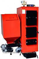 Твердотопливный котел с автоматической подачей топлива КТ-2Е Ш 38 кВт