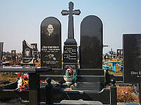 Двойной гранитный памятник №3