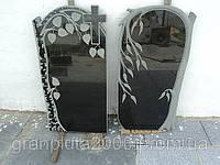 Двойной гранитный памятник №4