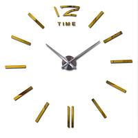 Купить большие настенные часы в Украине Золото Зеркальные