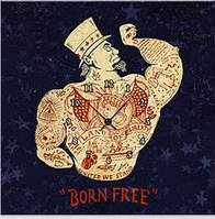 "Картина-часы (60х60 см) ""Born Free"""