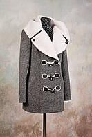 """Пальто """"даффлокт"""" кашемировое  М-639"""