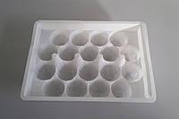 Пластиковый коррекс (ячейки) для перепелиных яиц на 10,18 штук