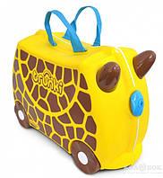 Детский чемоданчик на колесах Trunki Giraffe Gerry