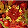 "Картина-часы (60х60 см) ""Осень"""
