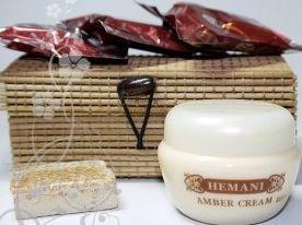 Сухой восточный аромат Amber Jamid + крем