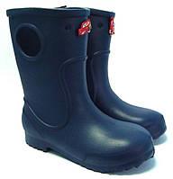 Детские дождевые сапоги (20-27) синий хосе аморалес, фото 1