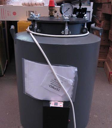 Автоклав електричний (цифрове управління) для домашнього консервування на 16 / 24 банок, фото 2