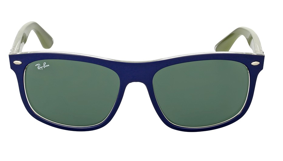 Солнцезащитные очки Ray-Ban Highstreet Green Classic RB4226F 618871 56