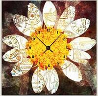 "Картина-часы (60х60 см) ""Цветок"""