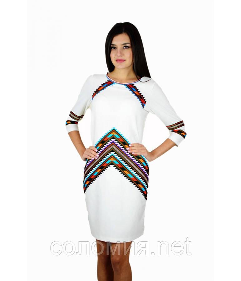 Плаття вишите жіноче 42-50 рр