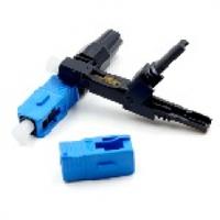 Коннектор SC/UPC-D быстрого монтажа, для плоского кабеля на защелке, цена за 1 шт, Q100
