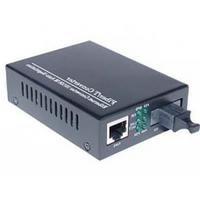 Медиаконвертор Merlion A (IC+113), 1310 WDM одноволоконный Full/Half duplex , SC 25km (-40+85°C), + блок питания 5V 1A